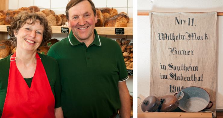 Hildegard und Hans-Peter Mack, Betriebsleiter Hofmarkt und ökologische Landwirtschaft